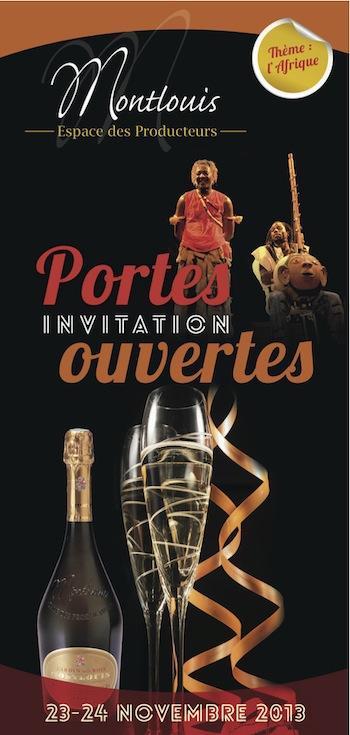 Espace Producteurs Montlouis invitation 23 et 24 novembre 2013
